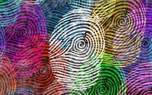 Bunter Fingerprint