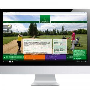 Bildschirm mit geöffneter Website GCF mit PLatzstatus