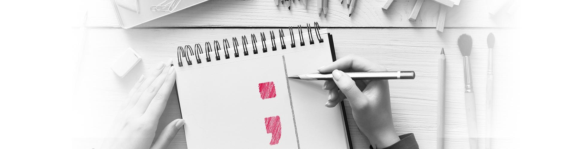 Notizblock mit Logo mayway Werbung und PR