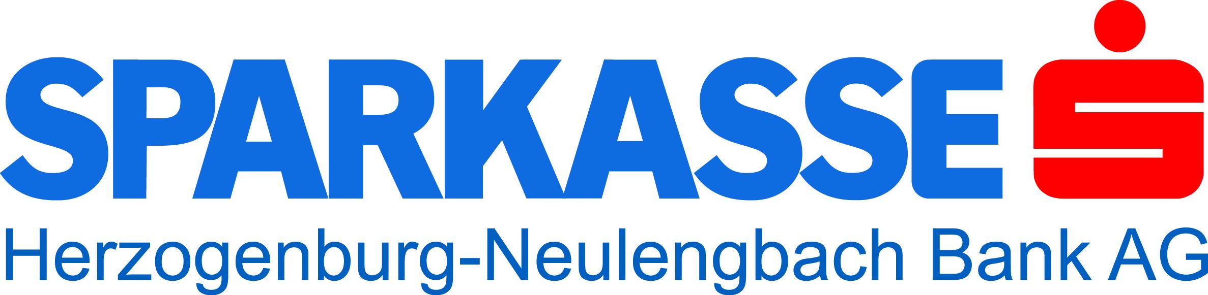 Schriftzug Sparkasse Herzogenburg-Neulengbach mit Logo