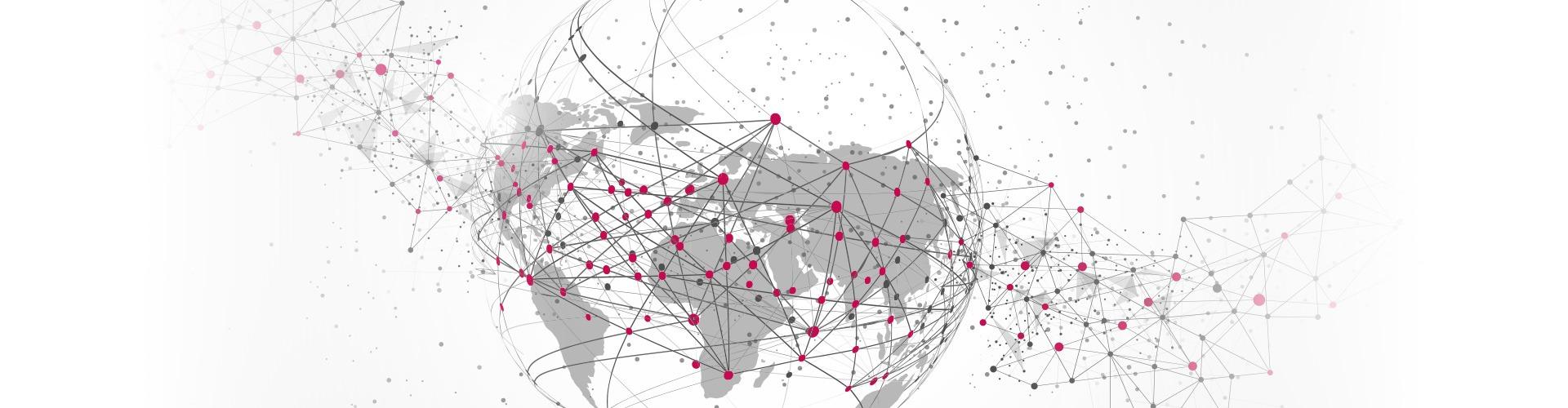 Darstellung vernetzte Erde
