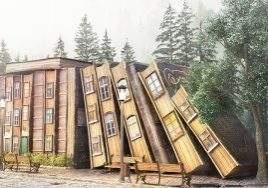 Märchenhaus aus Büchern